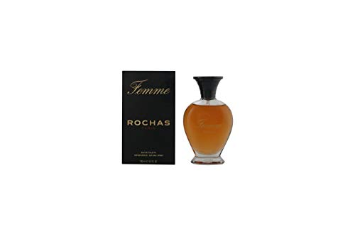 Rochas Femme EDT Spray 100 ml, 1er Pack (1 x 100 ml)