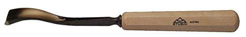Stubai 523820 Couteau à Sculpteur avec Manche, Or/Beige, 20 mm