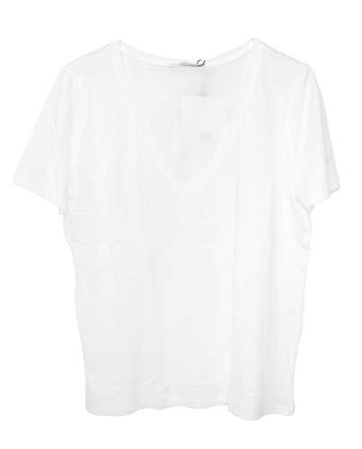 ZARA Damen Shirt mit v-Ausschnitt 4873/270 (Medium) (Zara Shirt)
