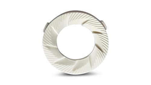 Mahlscheibe Keramik Mahlring passend für Mahlwerke mit Saeco Keramik Mahlscheiben, 48 x 28 - 2 Stück von Coffee in Shape