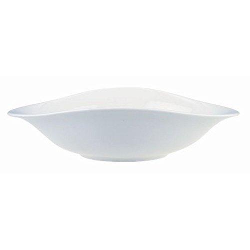 Villeroy & Boch Dune Kit pâtes/Haute qualité Bols en Porcelaine de qualité en Blanc/Passe au Lave-Vaisselle et au Micro-Ondes/4 pièces pour 4 Personnes