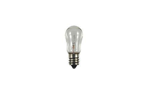 S+H Birnenlampe 19x48 mm Sockel E12 120 Volt 6 Watt -