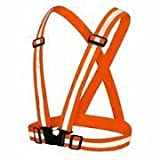 #2: Color Myles Reflective Vest for Outside Sports such as Running, Jogging , Cycling, Walking and Hiking - Elastic, Lightweight, Adjustable and High Visibility