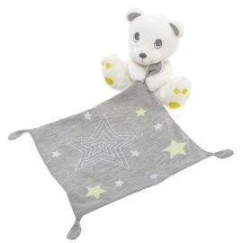 Kiabi–Doudou Kiabi Nicotoy oso blanco pañuelo gris...