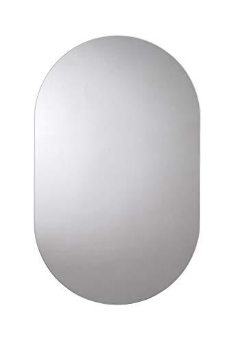 Croydex Harrop - Espejo Rectangular con Bordes Redondeados 65 x 40 cm