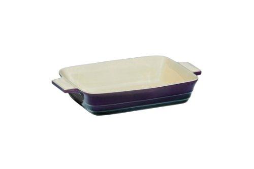 Premier Housewares Oven Love Plat rectangulaire Violet 22,7 x 12,7 x 4,5 cm