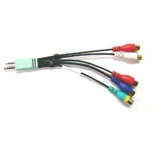 Neu Original Samsung BN3901154W TV-Audio Video Adapterkabel für AV-Komponente