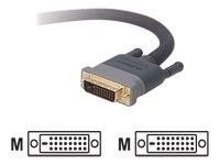 Belkin Dual-link Adapter (Belkin DVI, flach, A/V, 15.24 meters)