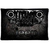 100% Brand New Jeep Wrangler Logo Personality 20 x 30 inches Zippered Pillow Case (Pillow) an ideal gift to Others