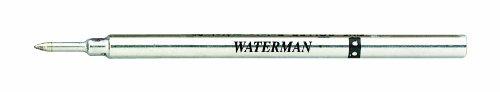 Waterman ricarica penna roller inchiostro, sottile, nera, nero