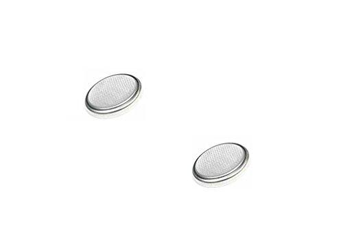 C63[Pack von zwei] 3Volt CR2025Lithium-Knopfzelle, 3V Batterien, Retail verpackt. - Cr2025 Button