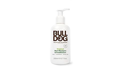 Bart Shampoo & Conditioner mit Aloe Vera, Leindotteröl und grünen Tee. Um den Bart zu reinigen.