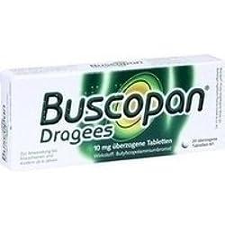 BUSCOPAN Dragees 20 St Überzogene Tabletten