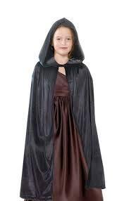 (WAN Capa con Capucha Terciopelo Disfraz de Halloween para Niños Mujeres Hombres Halloween Fiesta Disfraces … …)