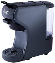 ماكينة تحضير القهوة الكهربائية 1450 واط، رمادي، اسود