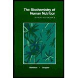 The Biochemistry of Human Nutrition: A Desk Reference by Hamilton, Eva May Nunnelley, Gropper, Sareen Annora Stepnick (1987) Paperback par Eva May Nunnelley, Gropper, Sareen Annora Stepnick Hamilton