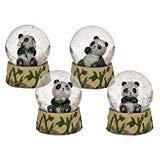 Schüttelkugel Sitzender Panda, zufällige Auswahl aus 4 ähnlichen Motiven,...