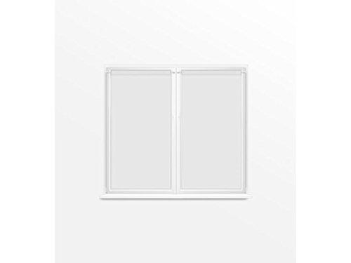 Soleil d'ocre Dolly Paire de Brise Bise, Polyester, Blanc, 90x120 cm