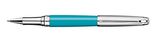 Caran d'ache Roller Leman Bicolor Plata / Turquesa