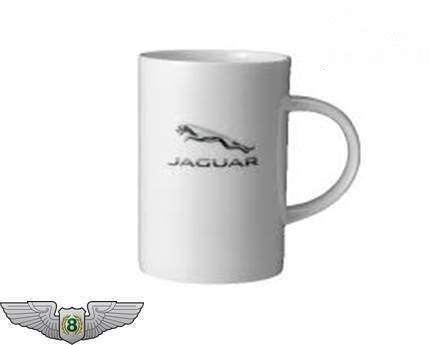 Jaguar Handelsware Sammlung NEU Original Leaper Logo Porzellan Tee Tasse 50jrcorpmug14