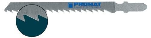 PROMAT 814673 Stichsägeblatt L.75mm WS Zahnt.4mm f.Hart-/Sperrholz PROMAT kon.