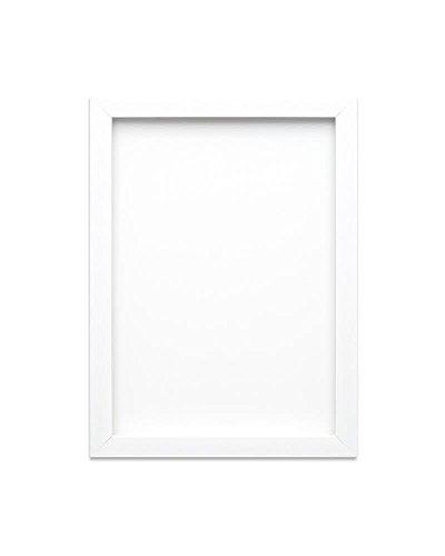 Weißer - A3 - Regenbogenfarbiger Bilderrahmen/Foto-/Posterrahmen -mit Einer Rückwand aus MDF - aus bruchsicherem Plexiglas aus Styrol für hohe Klarheit
