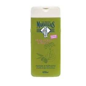 Le Petit Marseillais douche et bain huile d'olive tilleul 650ml