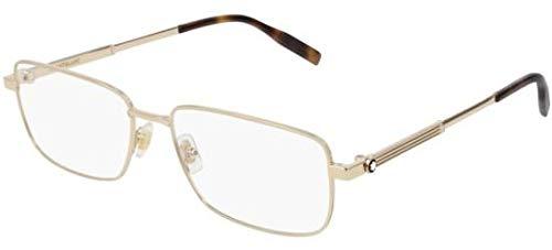 Brillen Mont Blanc MB0029O GOLD Herrenbrillen