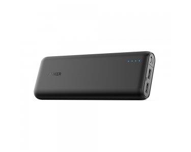 Anker-PowerCore-20100mAh-Externer-Akku-kompakter-als-jemals-zuvor-extrem-hohe-Kapazitt-2-Port-48A-Output-Power-Bank-Ladegert-mit-PowerIQ-Technologie-fr-iPhone-iPad-Samsung-Galaxy-und-weitere-SchwarzMa