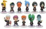 Japanese Manga Naruto Akatsuki Action Figures Set of 11 Pieces ...