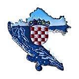 Wedare Kroatien 3D-Kühlschrank-Magnet Reise-Aufkleber Souvenirs, Home & Kitchen Dekoration Kroatien Kühlschrankmagnet aus China
