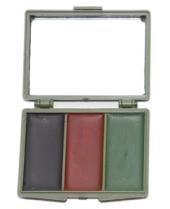 Make Kostüm Up Militär (Army Tarnschminken Set mit Spiegel Make Up 3 Farben oder 5 Farben (3)