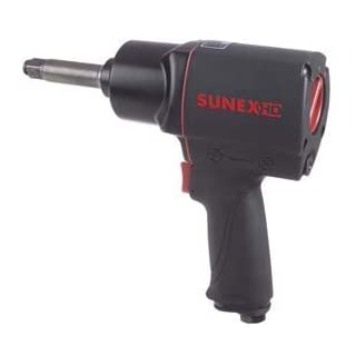 Sunex Sx43452 2-Inch Extended Anvil 1/2-Inch Composite Impact Wrench by Sunex International