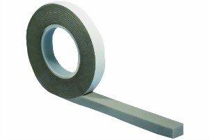 Kompriband 15/6 grau, 5,60 m, Bandbreite 15 mm, expandiert von 6 auf ca. 30 mm