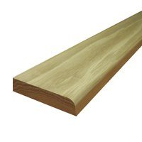 Solid Oak Flat Edge Door Threshold - 144mm x 850mm (Unfinished, 12mm Thickness)