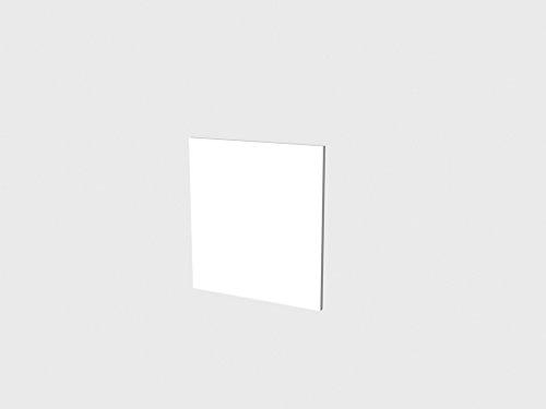 FRONTBLENDE COMO//PARMA/ANCONA 60 GSP GLÄNZEND WEIß DEKOR
