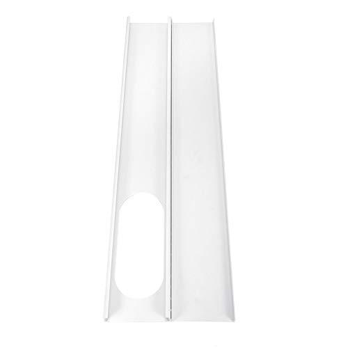MYAMIA 2pcs einstellbare Fensterrutsch-Kausatz-Plattier-Luftreiniger Windschild für Klimaanlage
