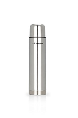 Orbegozo TRL 10060 - Termo líquido, inox, 1000 ml, acero inoxidable, color gris