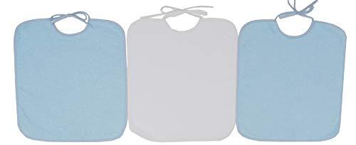 Ti TIN Pack 3 Baberos Sin Plástico Para Bebés Más