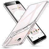 ESR Essential Zero Hülle für Google Pixel 3, Schlankes Klares Weiches TPU - Weiches Flexibles Case, Kompatibel mit dem Google Pixel 3 (Kristallklar)