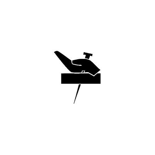 2 Stücke Auto Aufkleber, Fenster Aufkleber, Stilvolle Heilige Christentum Kunst Autotür Aufkleber, Auto Dekoration Schwarz/Weiß 11,1x 12,7 cm
