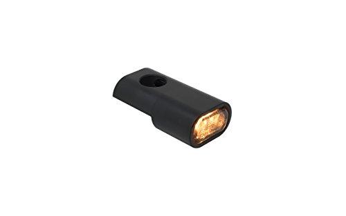 Blinkergehäuse schwarz eloxiert Universal für 15,5mm LED Einsätze, Blinkerhalter LED-Blinker Armaturen Lenkerarmaturen Blinker (LED Blinker) (Harley Led-blinker-einsätze)
