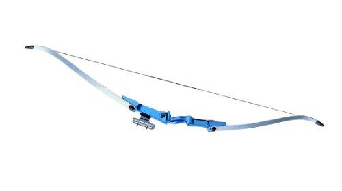 GSG Recurve Take Down Bogen Blue Jazz Länge 155 cm 30lbs, 203401