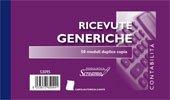 20 blocchi ricevute generiche duplice copia carta chimica