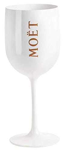 Moet Chandon Ice Imperial Weiß Acryl champagner Glas von Moet
