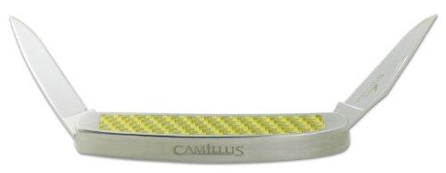 Camillus Yellow Jaket Muskrat Klappmesser Silber/Gold
