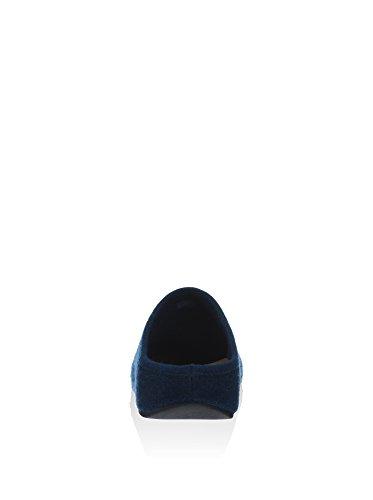Fitflop Men's Shuvtm-Felt, Mules homme Bleu