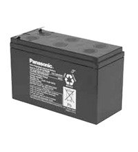 Panasonic LC-P127R2P Sealed Lead Acid (VRLA) 12V batterie rechargeable - Batteries rechargeables (Sealed Lead Acid (VRLA), 12 V, Noir, 1 pièce(s))