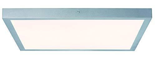 Paulmann 706.52 WallCeiling Lunar LED-Panel 600x600mm 27,4W 230V Chrom matt Alu 70652 Deckenaufbauleuchte Deckenleuchte Deckenlampe