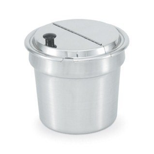 Vollrath (47488) 9-5/8 Stainless Steel Hinged Cover by Vollrath Vollrath Cover